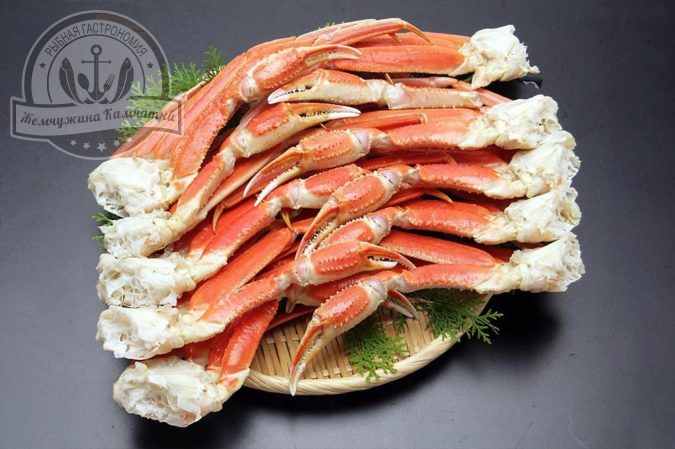 krab kamchatskij strigun komplekt konechnostej v panczire vareno morozhenye