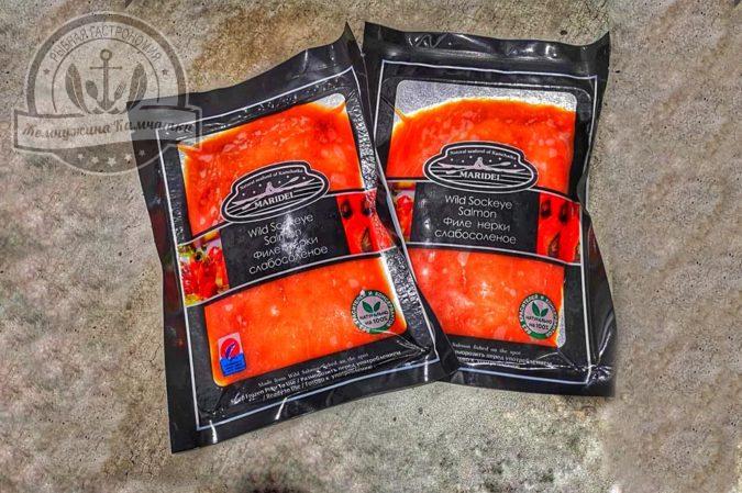 lomtiki nerki podkopchennye malosolenye 150 gr