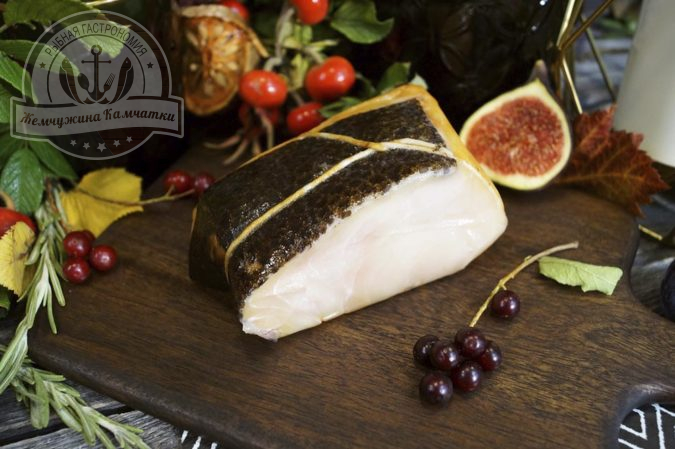 Масляная рыба, филе  холодного копчения premium