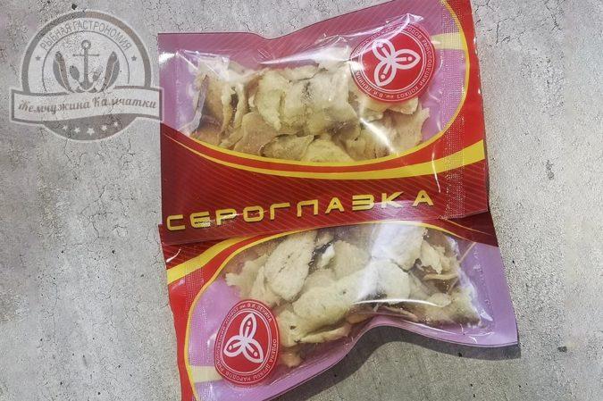 Чипсы из трески сушеные 50 гр