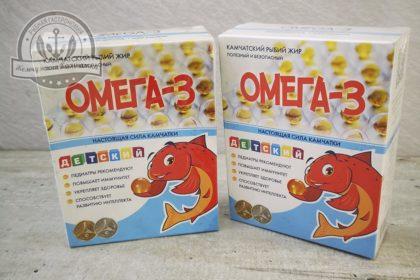 Омега 3 ( 90 капсул) детский 300 мг