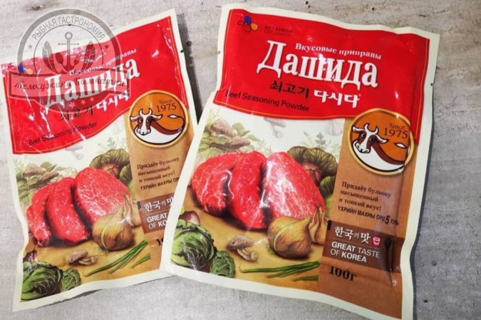 priprava dashida 100 gr s govyadinoj