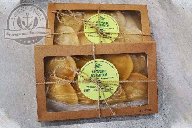 raviolli iz kizhucha s belymi gribami