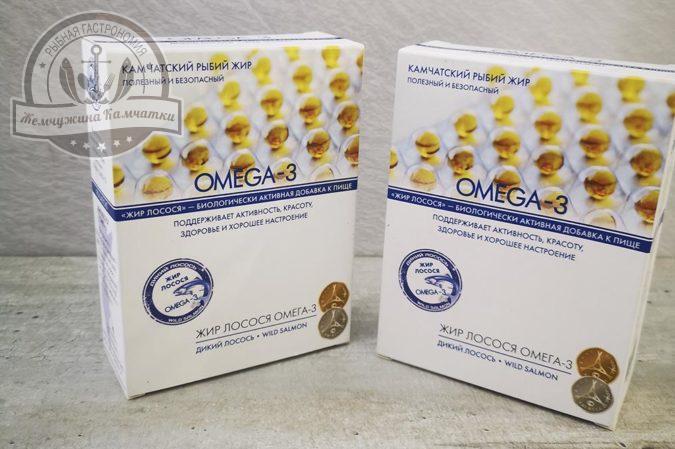 Рыбий жир Омега 3 ( 90 капсул) 300 мг