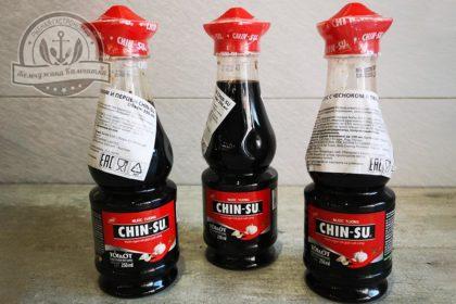 Соевый соус  Chin-Su с перцем и чесноком