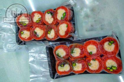 Рулет из форели с творожным сыром и фисташками «закусочка» ~250 гр