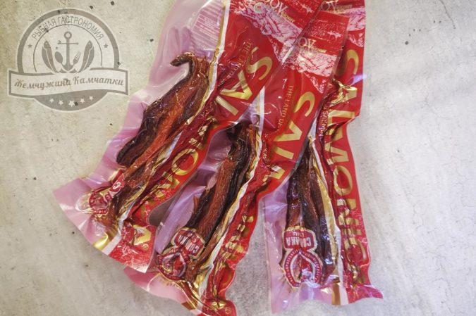 Соломка из лососевых сушеная 50 гр