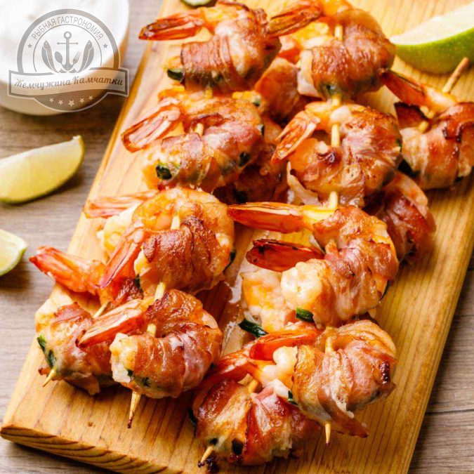 5a bacon wrapped shrimp
