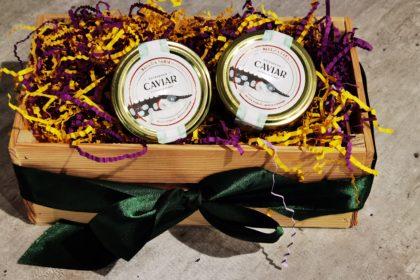 Черная икра белуги зернистая (забойная) 50 гр